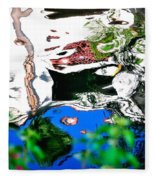 Water Reflection 29354 Fleece Blanket