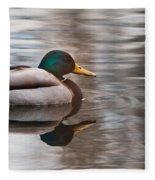 Water Reflection Fleece Blanket