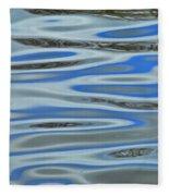 Water Reflections 2 Fleece Blanket