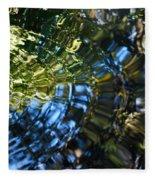Water Reflections 4 Fleece Blanket