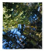 Water Reflections 5 Fleece Blanket