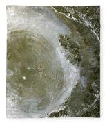 Water Spout 2 Fleece Blanket