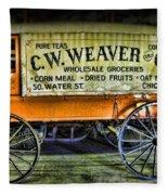 Water St. -  Chicago - The Salesman  Fleece Blanket