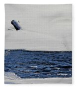 Water Trail Fleece Blanket