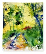 Watercolor 318012 Fleece Blanket