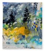 Watercolor 414062 Fleece Blanket