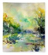 Watercolor 45319041 Fleece Blanket