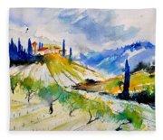 Watercolor Toscana 317040 Fleece Blanket