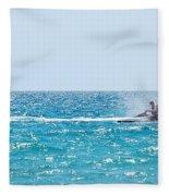 Watercraft Fleece Blanket