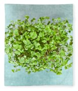 Watercress Fleece Blanket