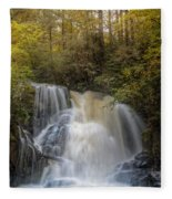 Waterfall After The Rain Fleece Blanket