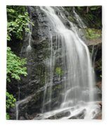 Waterfall Bay Of Fundy Fleece Blanket