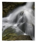 Waterfall In The Rocks Fleece Blanket