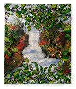 Waterfall - Kinetic Energy Fleece Blanket