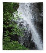Waterfall Mine Kill State Park New York Fleece Blanket