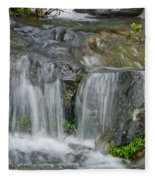 Waterfall On The Paradise River Fleece Blanket