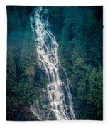 Waterfall Princess Louisa Inlet Fleece Blanket