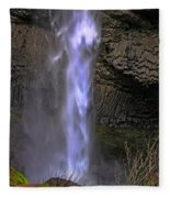 Waterfall Spray Fleece Blanket
