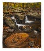 Waterfalls And Swirl Fleece Blanket