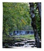 Waterfalls At Dusk 2012 Fleece Blanket