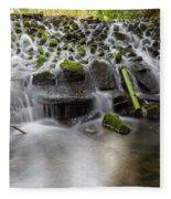 Waterfalls In Marlay Park Fleece Blanket
