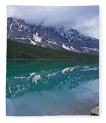Waterfowl Lake Fleece Blanket