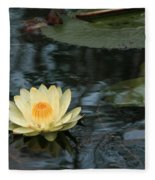 Waterlilly 1 Fleece Blanket
