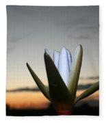 Waterlilly 3 Fleece Blanket