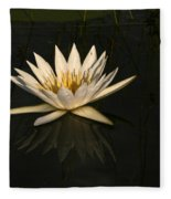 Waterlilly 6 Fleece Blanket