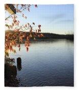 Waterways River View Fleece Blanket