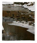 Watery Trail Fleece Blanket