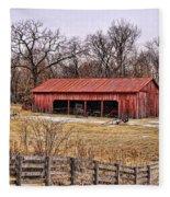 Watkins Mill Barn Fleece Blanket