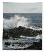 Wave Action Fleece Blanket