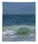 Wave At Seal Beach Fleece Blanket