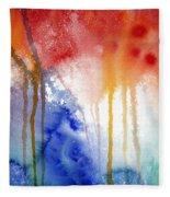 Waves Of Emotion Fleece Blanket