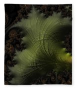 Waves Of Resonance Fleece Blanket