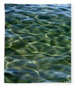 Waves On Lake Tahoe Fleece Blanket
