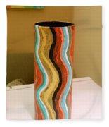 Wavy Vase Fleece Blanket