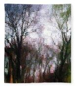 Wavy Willows Fleece Blanket