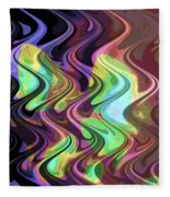 Wavy Fleece Blanket
