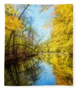 Waxen Autumn 1  Fleece Blanket