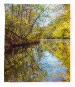 Waxen Autumn 2  Fleece Blanket