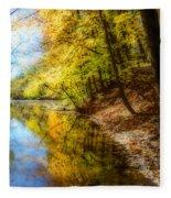 Waxen Autumn 3  Fleece Blanket