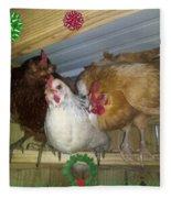 We Wish You A Merry Christmas Fleece Blanket