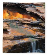 Weano Gorge - Karijini Np 2am-111671 Fleece Blanket