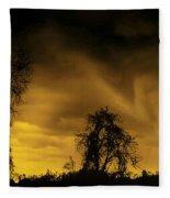 Weather Warning Fleece Blanket