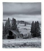 Weathered Beneath The Storm Fleece Blanket