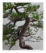 Weathered Bonsai Fleece Blanket