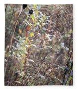 Web We Weave Fleece Blanket