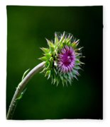 Webbed Thistle Fleece Blanket